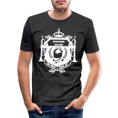 Mykonos Vibes - T-shirt près du corps Homme
