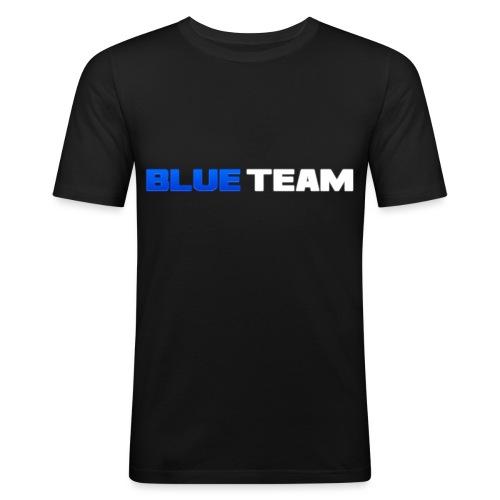 Blue Team - T-shirt près du corps Homme