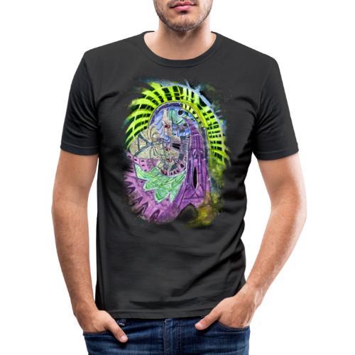 High on Waltz (in Vienna) - Männer Slim Fit T-Shirt