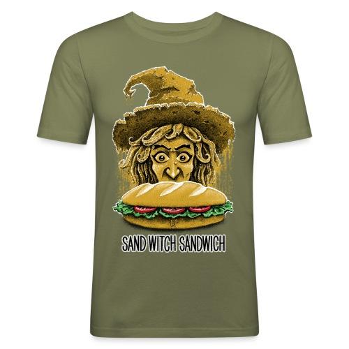 Sand Witch Sandwich V1 - Men's Slim Fit T-Shirt