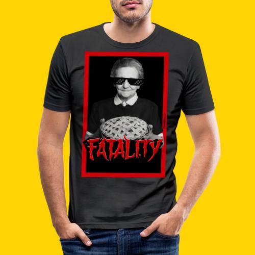 Fatality - Maglietta aderente da uomo