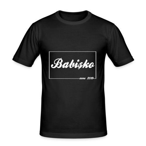 BABISKO   sene 2019   Cift -> ANNECIK - Männer Slim Fit T-Shirt