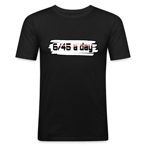 Logo 645 spread1 png - Männer Slim Fit T-Shirt