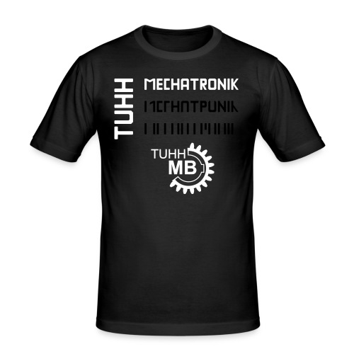 april 08 mech tuhh kombi - Männer Slim Fit T-Shirt