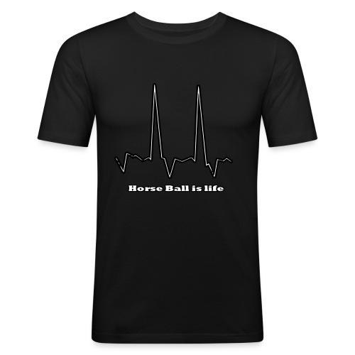 hb is life - T-shirt près du corps Homme