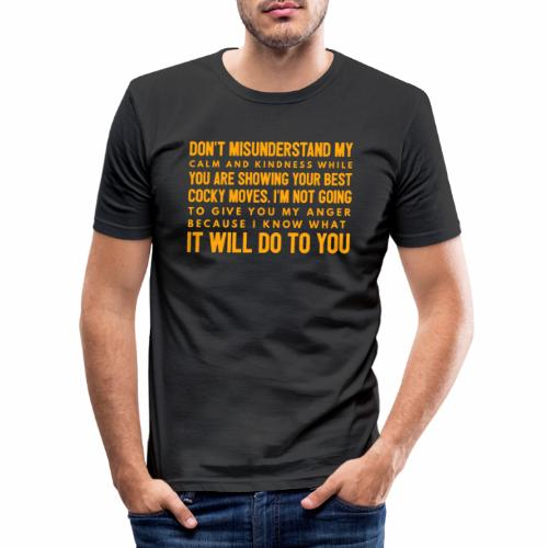 confidence - Herre Slim Fit T-Shirt