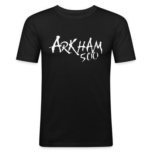 arkham 500 hvit png - Slim Fit T-skjorte for menn