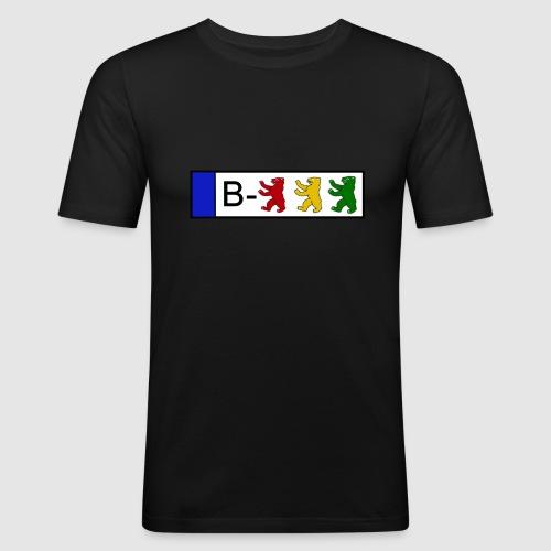 Kennzeichen - Männer Slim Fit T-Shirt