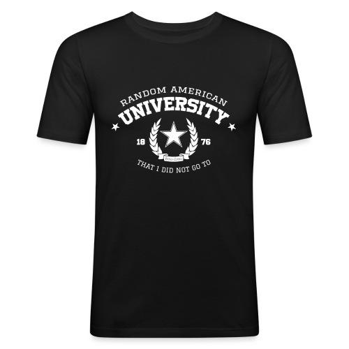 Random University - slim fit T-shirt