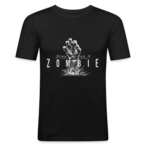 Rise of a Zombie - Männer Slim Fit T-Shirt