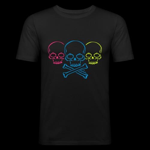 totenkopf2 v1 - Männer Slim Fit T-Shirt