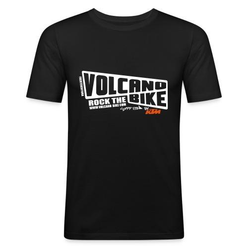 volcano-fuerteventura - Männer Slim Fit T-Shirt