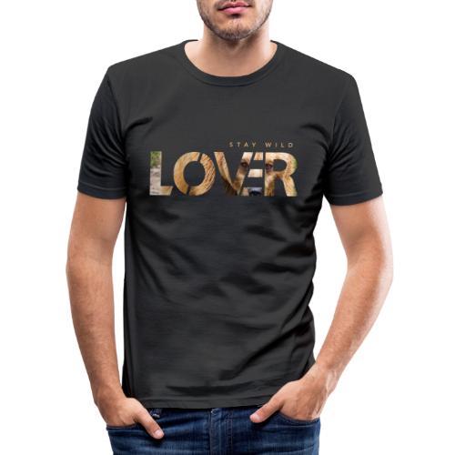 Stay Wild Lover - Maglietta aderente da uomo