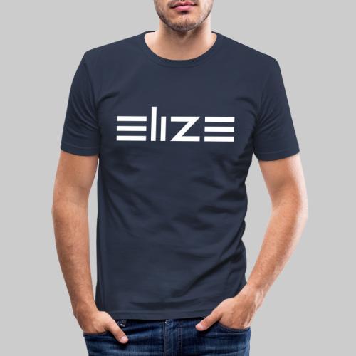ELIZE Logo Vektor - Männer Slim Fit T-Shirt