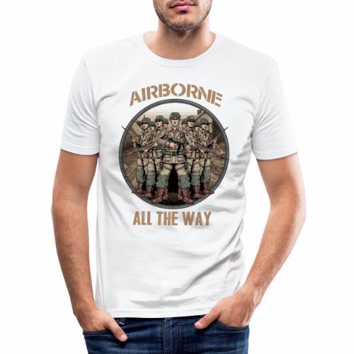 Airborne - Tout le chemin - T-shirt près du corps Homme