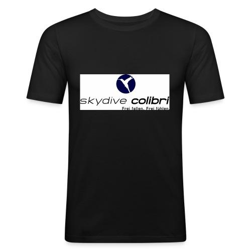 colibrilogo - Männer Slim Fit T-Shirt