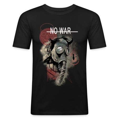 No War - Männer Slim Fit T-Shirt