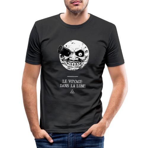 Majora: Viaje a la Luna - Camiseta ajustada hombre