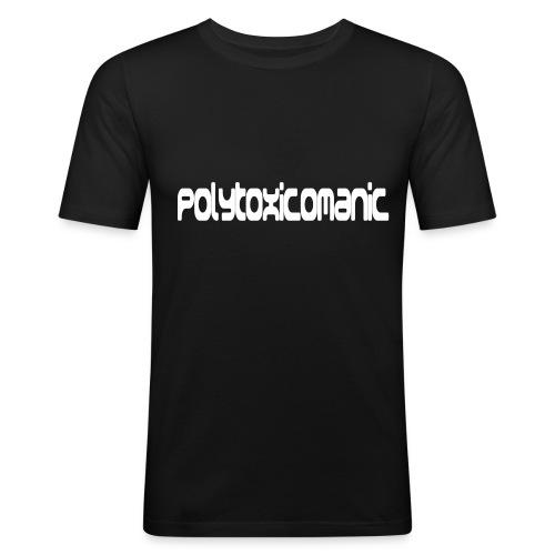 11331 52974 polytoxicomanic orig - Männer Slim Fit T-Shirt