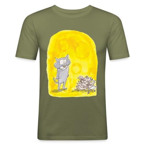 Le chat et les souris - T-shirt près du corps Homme