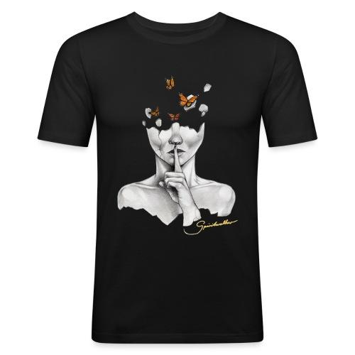 Follow The Rules - Männer Slim Fit T-Shirt