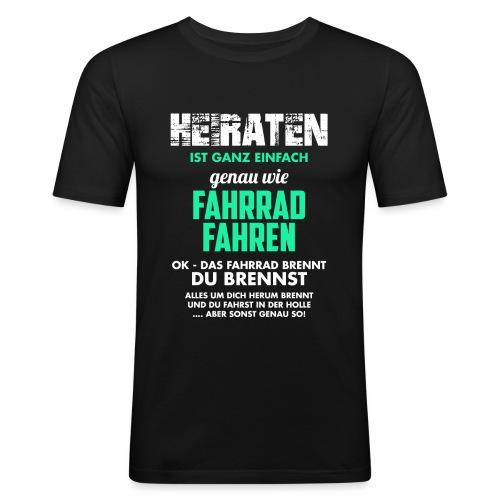 Heiraten - Männer Slim Fit T-Shirt
