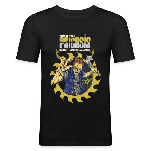PSICOSIS - SHA - Men's Slim Fit T-Shirt