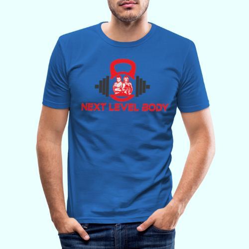 NEXT LEVEL BODY - Miesten tyköistuva t-paita