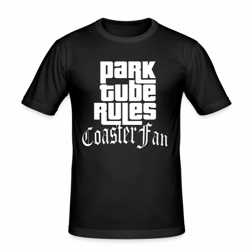 ParkTube Rules GTA Style - Männer Slim Fit T-Shirt