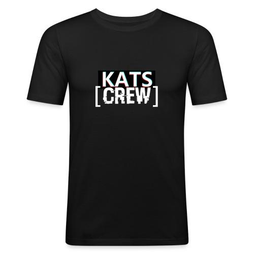 KATS CREW Logo - Obcisła koszulka męska