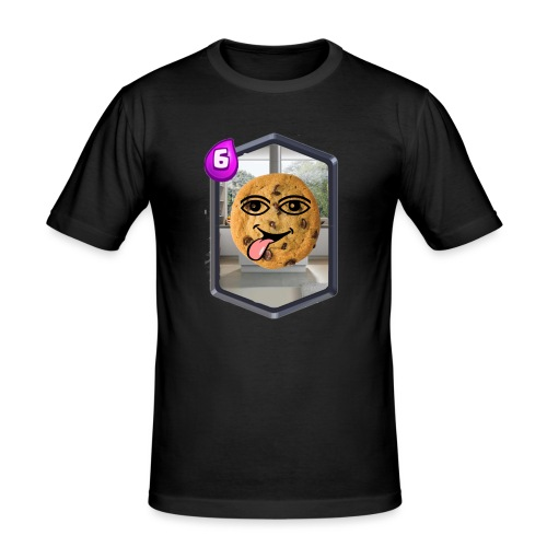Cookie Man - Männer Slim Fit T-Shirt