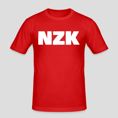 NZK logo - slim fit T-shirt