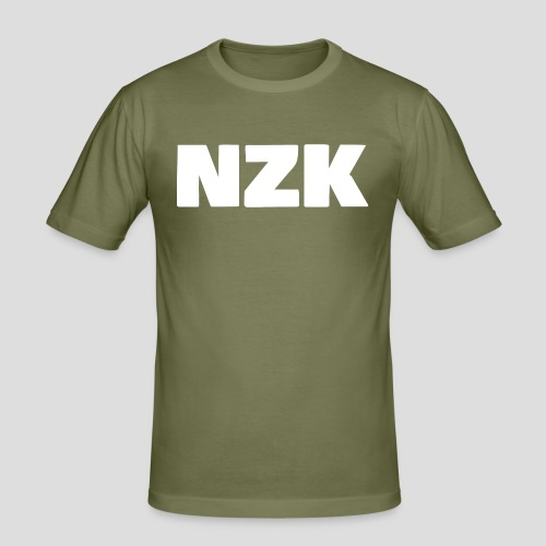 NZK logo - slim fit T-shirt