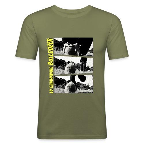 Lo chiamavano Bulldozer - Maglietta aderente da uomo