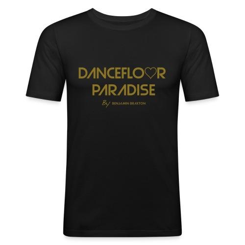 tshirt dancefloor paradise party blanc - T-shirt près du corps Homme