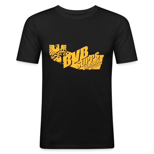 Supps-Bocholt groß - Männer Slim Fit T-Shirt