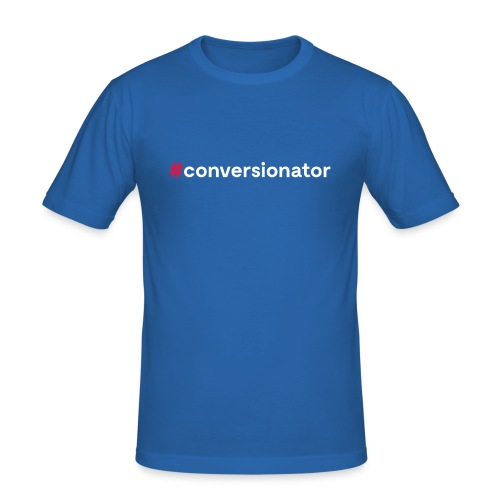 #Conversionator - Männer Slim Fit T-Shirt