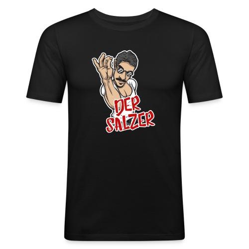 Der Salzer | Grillmeister Tshirt - Männer Slim Fit T-Shirt