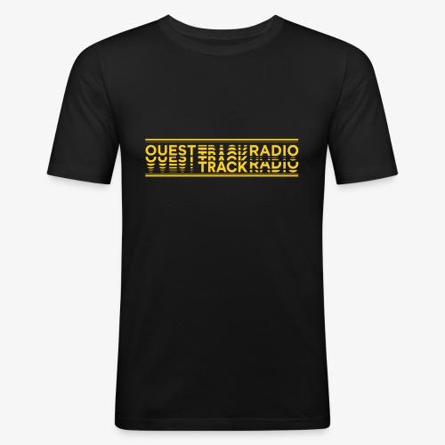 Logo Long jaune - T-shirt près du corps Homme