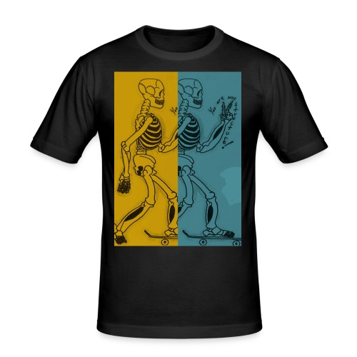 Esqueleto skater: You are my structure! - Camiseta ajustada hombre