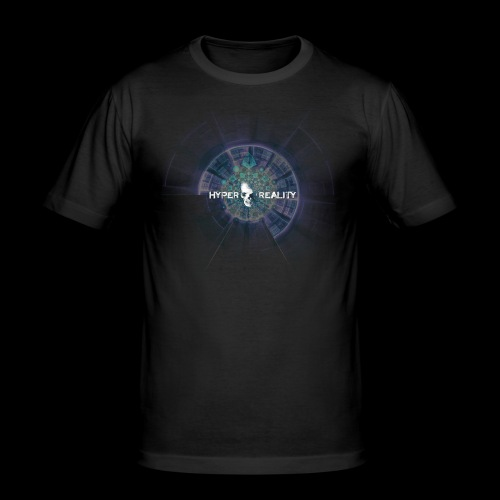 HRR ABSTRACT FRONT & BACK - Men's Slim Fit T-Shirt