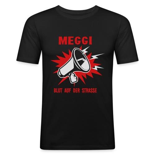 MEGGI - Blut auf der Straße - Männer Slim Fit T-Shirt