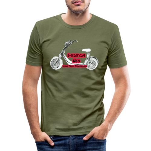 Neorider Scooter Club - T-shirt près du corps Homme