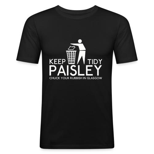 Keep Paisley Tidy - Men's Slim Fit T-Shirt