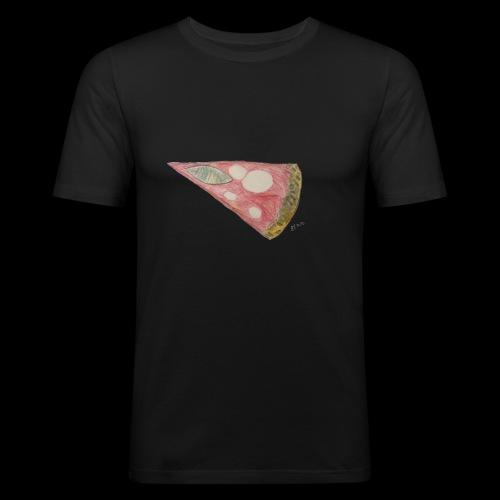 BY TAiTO Pizza Slice - Miesten tyköistuva t-paita