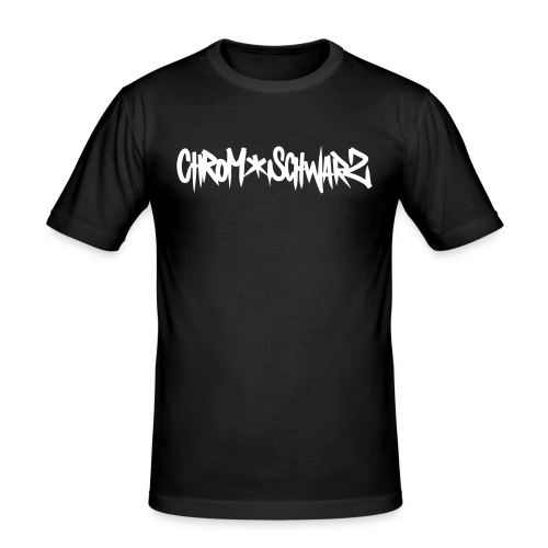 ChromSchwarz - Men's Slim Fit T-Shirt