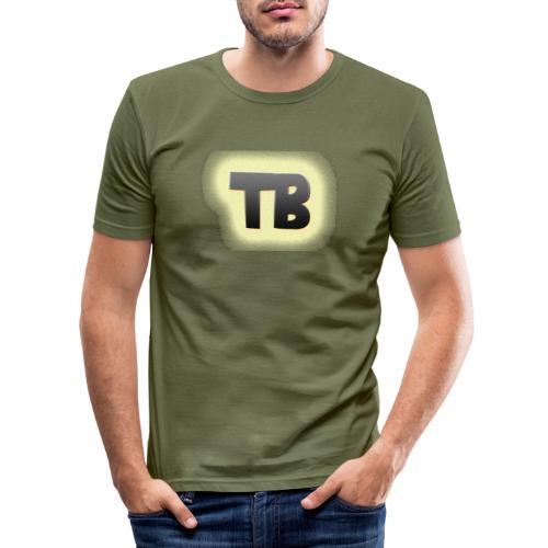thibaut bruyneel kledij - Mannen slim fit T-shirt