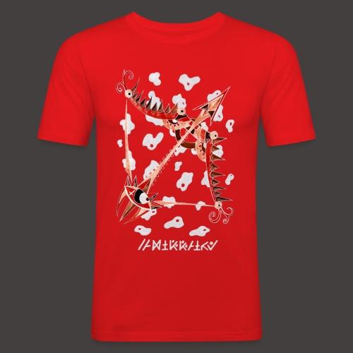 Sagittaire Négutif - T-shirt près du corps Homme