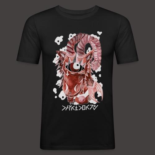capricorne Négutif - T-shirt près du corps Homme