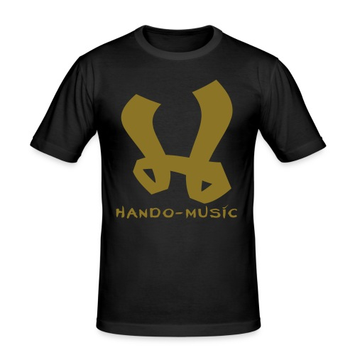 logohando - Männer Slim Fit T-Shirt